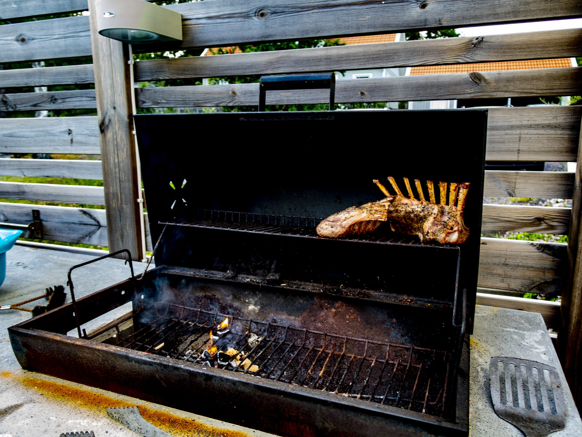 On the grill – GOTHWORK